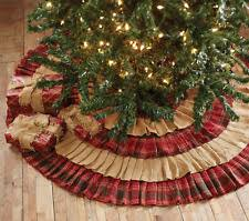 tree skirts burlap collectibles crafts ebay