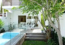 landscape small backyard innocent simple garden design ideassmall