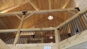 high pole barn homes interior barn living pole quarter in pole
