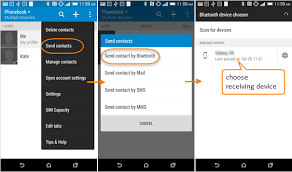 transfer contacts android 3 ways to transfer contacts from android to galaxy s8