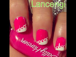 diy how to create easy lace nail art designs for beginners