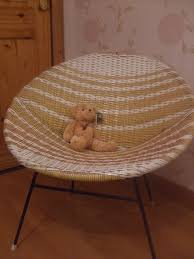 furniture vintage round rattan chair