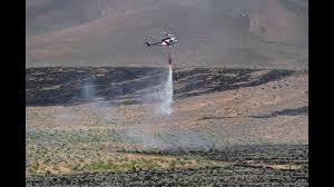 Wildfire Near Reno by Fire Near Border Town Downgraded To 167 Acres