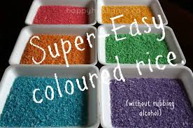how to build a sensory table rainbow rice how to dye rice for sensory play in 3 easy steps