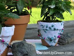 Challenge Flower Pot Summer Clay Pot Bead Challenge Garden Up Green