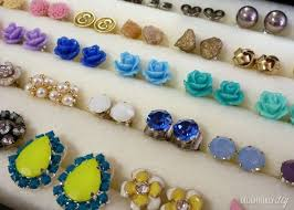 organize stud earrings 17 ways to organize your jewelry that stop tangles