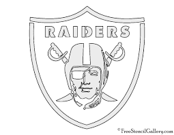 Halloween Stencils Free Printable by Nfl Oakland Raiders Stencil Free Stencil Gallery