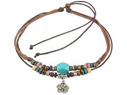 beading cord necklace images Ancient tribe unisex adjustable hemp cord wood beads jpg
