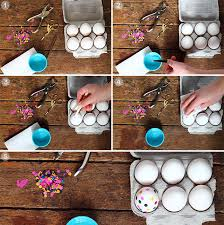 paper easter eggs tissue paper dyed easter eggs squirrelly minds