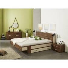 chambre wengé tiroirsvec rangement romeo coucher cher noyer promo tendance chambre