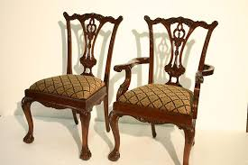 Solid Mahogany Bedroom Furniture by Classic Chippendale Dining Chair Made From Solid Mahogany