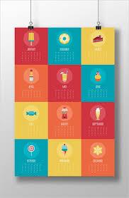 Desk Calendar Design Inspiration