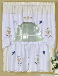 Kitchen Curtains Swags by Delicious Curtains Are A Complete Tier U0026 Swags Set Each Package