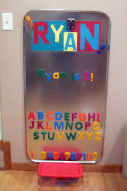 Oil Drip Pan From Walmart As A Giant Magnet Board Great - Magnetic board for kids room