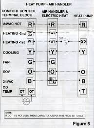 trane heat pump wiring diagram ac to furnace the in decorating ideas