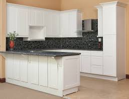 Kitchen Of The Day Brilliant White Shaker RTA Kitchen Of The - Shaker white kitchen cabinets