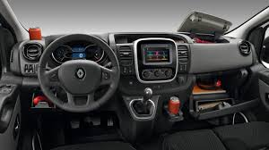 opel vivaro interior features trafic vans renault uk