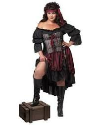 Size Kitty Halloween Costume Plussize Costumes Pirate Woman Costume Size Halloween