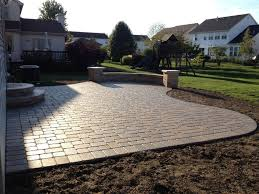 Paver Patio Paver Patio Ideas A Tree Optimizing Home Decor Ideas