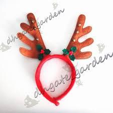 deer headband deer antler headband antler christmas horn headband with ears