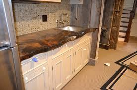 Rustic Kitchen Countertops - kitchen rustic kitchen countertop designs real oak wood