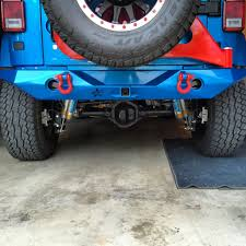 jeep rear bumper with tire carrier ultra series mid width rear bumper with tabs and tire carrier