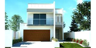 modern home design narrow lot home designs for small lots beautiful design simple house for small