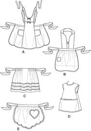 free apron patterns for simplicity 4286 aprons for children