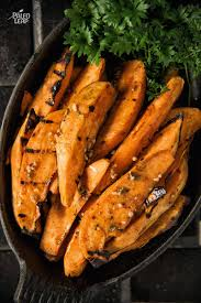 Potatoes Main Dish - grilled zesty sweet potatoes paleo leap