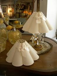 Sconce Lamp Shades Chandelier Clip On Mini Lamp Shade Marguerite Wall Sconce White