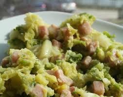 comment cuisiner chou vert recette de chou vert à la crème recettes diététiques