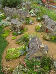 charming fairy cottages garden faerie gnome elf houses