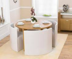 White Leather Dining Room Set Coco Round Black Glass Dining Table With 4 Chairs Kitchen Corner
