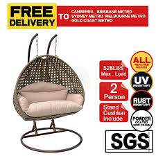 hanging wicker egg chair rattan outdoor furniture descargas