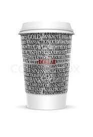 plastic coffee cup templates over white background 3d rendered