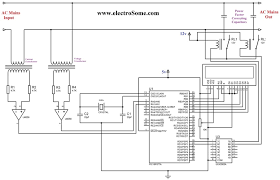 capacitive power factor wiring diagram components