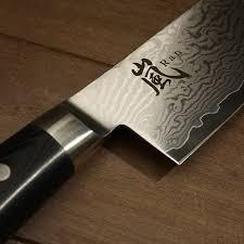 Damascus Kitchen Knives Yaxell Damascus Ran 69 Layers Chef U0027s Knife 8 Inch
