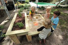 how to build an herb garden how to build a kids sandbox with a raised herb garden