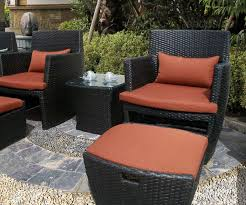 Patio Chair And Ottoman Set Elegant Outdoor Chair With Ottoman Strata Furniture Patio Chair
