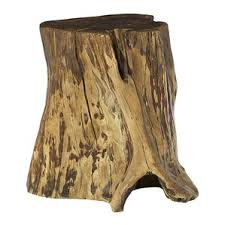 Tree Stump Nightstand End U0026 Side Tables You U0027ll Love Wayfair