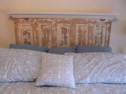 How To Make A Door Headboard by Antique Wood Headboards King Size 14009
