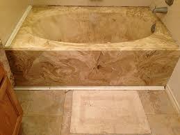 bed bath astounding cultured marble bathtub for bathroom