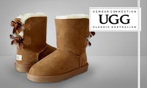 groupon s boots ugg two ribbon boots groupon goods