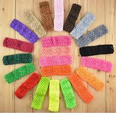 crochet headband tutu 1 pc send 1 5inch tulle tutu crochet elastic knit headbands