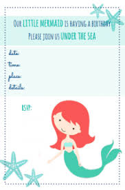 free mermaid printables food tags mermaid parties party