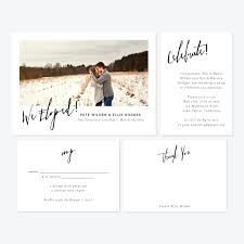 elopement announcements skipt paper co fresh designs for elopement announcements