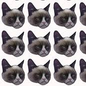 grumpy cat wrapping paper meme fabric wallpaper gift wrap spoonflower