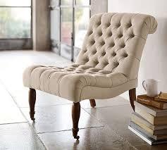 carolyn tufted slipper chair pottery barn