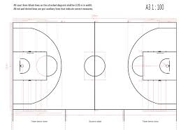 Half Court Basketball Dimensions For A Backyard by Excellent Decoration Backyard Basketball Court Dimensions