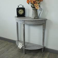 half round console table wood half moon console table console table demilune half moon